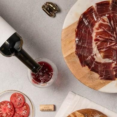 Jamón de bellota 100% Ibérico D.O (Rango 7 - 7,5kg)