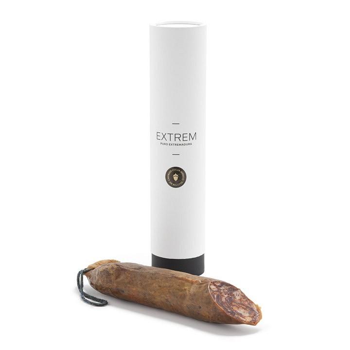 Chorizo cular ibérico de bellota media pieza (450-550gr)