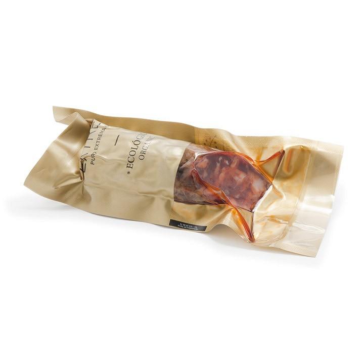 Chorizo cular ibérico de bellota ecológico 1/4 de pieza