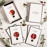 Gourmet Box con 10 Sobres de Jamón y Paleta de bellota 100%