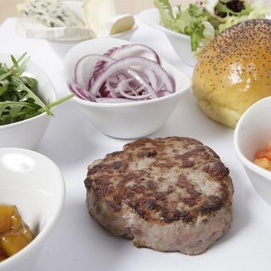hamburguesa de cerdo ecologica