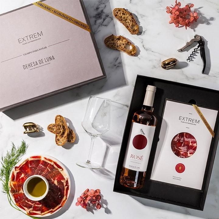 Cofre Tiempo para Soñar Ecológico con Vino Rosé 2020